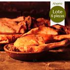 SEIS CUARTOS de Cordero lechal asado (15/16 personas)