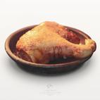 Cochinillo de CorderoSacramenia.com terminado de asar en casa